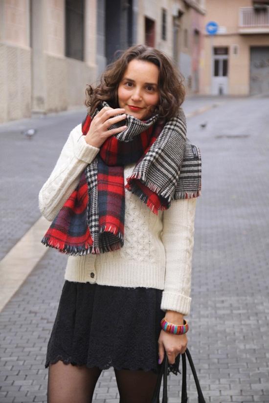 écharpe écossaise zara - Idée pour s habiller 515a6cdcb4d