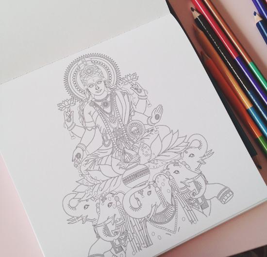 dessin adulte anti stress japonais