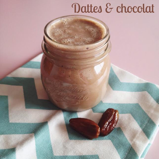 smoothie dattes