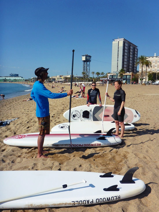 Un sport pour l'été : le Stand Up Paddle