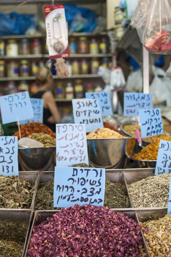 sivan-askayo-herbs-at-levinski-market
