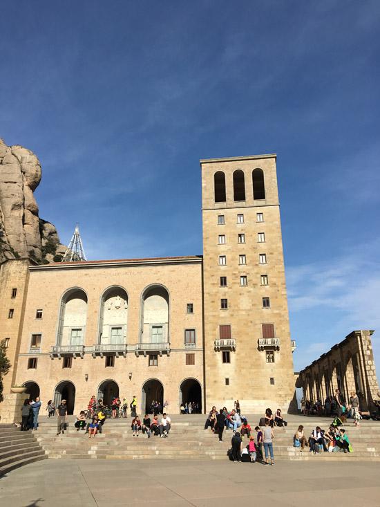 Le monastère de Montserrat